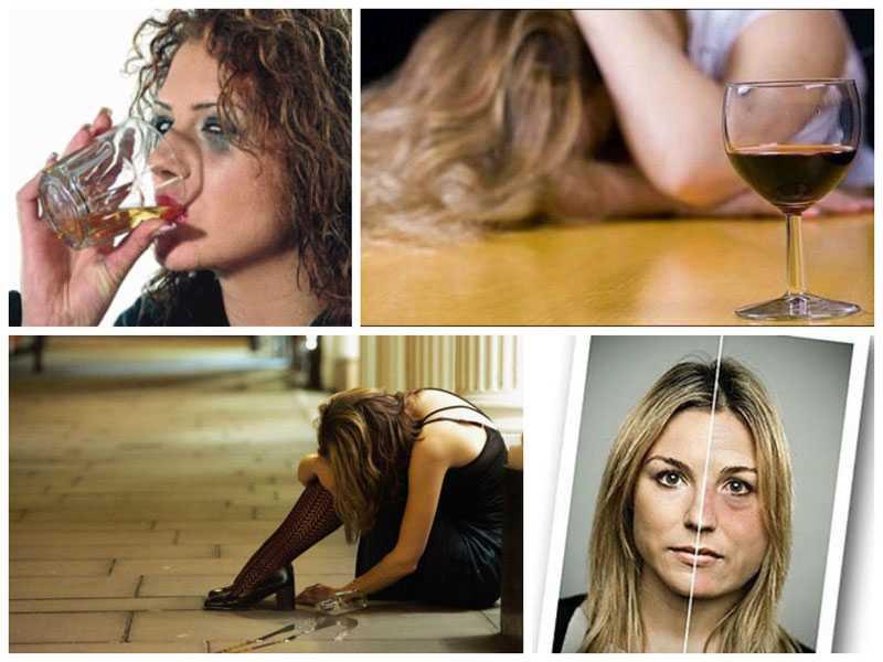 вред алкоголя на женский организм